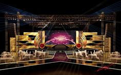 Stage design :: 3Dmax/스케치업/무대시안