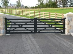 JDR Metal Art makes it easy for you to get a spectacular custom driveway gate made for your beautiful home, farm, ranch or estate. Iron Gates Driveway, Driveway Fence, Driveway Entrance, House Entrance, Entrance Ideas, Farm Entrance Gates, House Front Gate, Front Gates, Entry Gates