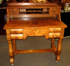 You need this handsome Empire style vintage desk, and it's only $399.00! sold