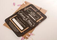 Chalkboard Bundle Wedding Invitations – norma&dorothy