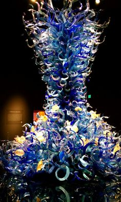 Glass museum in Seattle