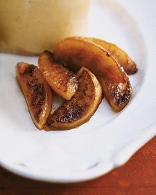 Sauteed Maple Syrup Apples - use golden delicious or red delicious apples