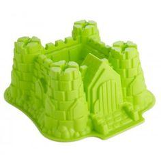 Es un castillo y es un molde. De silicona.