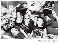 Melody White Studios Model Shoot | Seniorologie, Rock and Roll