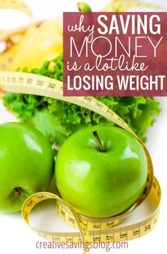 How many times have you been discouraged and overwhelmed by what it takes to make lifelong changes? These 3 comparisons between saving money and losing weight will give you the secret to maintaining a healthy lifestyle - physically, AND financially!