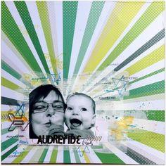 Page autoportrait réalisée par Audreyide