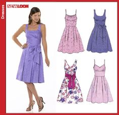 New Look 6776 Misses Dress sewing pattern