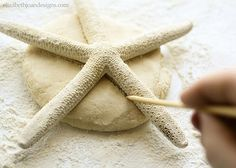 Saltdough starfish: with clear and easy instructions