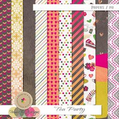 Tea Party - Papers | France M. Designs