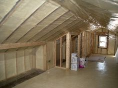 Attic Upstairs Ideas On Pinterest Knee Walls Storage And Conversion