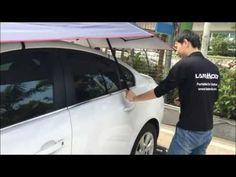 lanmodo auto car umbrella - open and close in 8s via remote controller