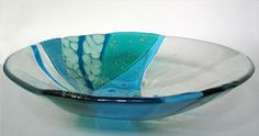 Check out http://dalekeating.com!  Fused glass art