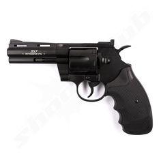 "Legends .357 4"" CO2 Softair Revolver schwarz Kal. 6mm  #shootclub #airsoft #softair"