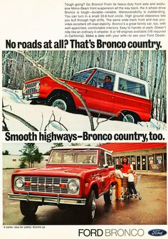 1972 Ford Bronco. Want one of these so badly!