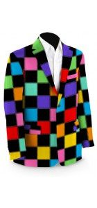 HollyWoody Squares Black Sport Coat