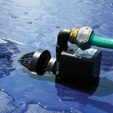 Remember to drain standing water from the top of your pool cover with a pool cover pump.  Find all of your pool supply needs at Doheny's Pool Supplies Fast: www.doheny.com
