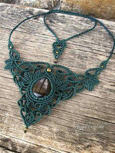 Woodland Macramé Necklace