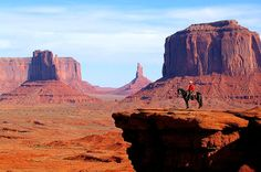 John Ford Point is spectacular offer an unforgettable view of Monument Valley, Navajo Tribal Park, AZ.