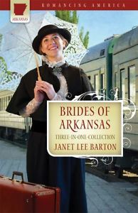 Brides of Arkansas by Janet Lee Barton. awesome book! Love it :)