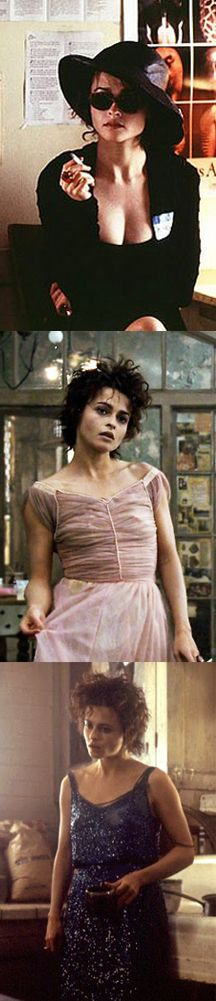 Helena Bonham Carter as Marla in Fight Club (1999). Costume Designer: Michael Kaplan