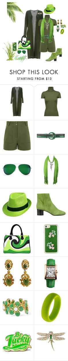 """""""Neon Lime Green, Army Green"""" by cody-k ❤ liked on Polyvore featuring Audrey 3+1, Theory, TIBI, Oscar de la Renta, Victoria Beckham, Isabel Marant, Shibaful, Ben-Amun, Marby & Elm and Betsey Johnson"""