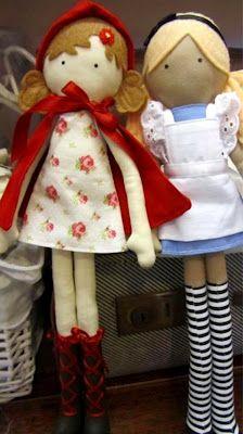 Lilliput Loft...it would be fun to make dolls w/ the girls