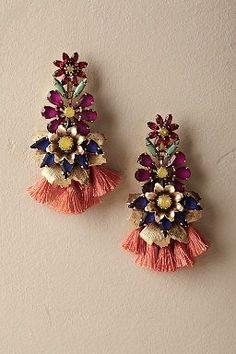 Anouk Tassel Earrings #luxuryjewelrystore