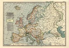MP53 Vintage 1897 Historical Antique Art Old Map Of Europ... https://www.amazon.com/dp/B01C4HEAGG/ref=cm_sw_r_pi_dp_x_-YBZybZ8GJVTT
