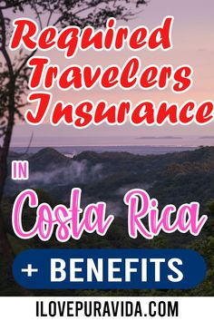 Check out the information on the Required Insurance for all those traveling to Costa Rica. This insurance not only covers you in case of a pandemic but also covers other possible eventualities. Ambulatory Care, Travel Tips, Travel Destinations, In Case Of Emergency, Health Center, South America Travel, Travel Information, Costa Rica, Maps
