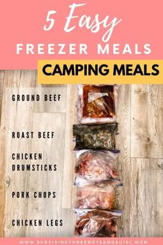 Balsamic Chicken Thighs, Balsamic Chicken Recipes, Slow Cooker Roast Beef, Slow Cooker Chicken, Best Freezer Meals, Freezer Cooking, Brown Sugar Meatloaf, Meal Planning Board