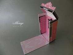 "Nicki Minaj Perfume/ Fragrance Package design ""Mirage"" by Andre Teh-hsi Chen, via Behance"
