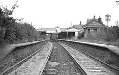 Ardingly Station in May 1969 by photo Nick Catford