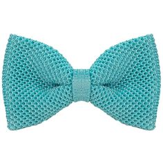 40 Colori - Baby Blue Solid Silk Knitted Bow Tie ($55) ❤ liked on Polyvore featuring men's fashion, men's accessories, men's neckwear, bow ties, men, ties, mens formal ties, mens bow ties, mens ties and mens silk ties