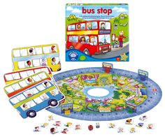 Bus Stop Game - Orchard Toys Games - Puzzles & Games - Catalogue