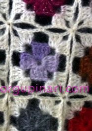 BEY BEĞENDİ ÖRNEĞİ (GRANNY SQUARE) – Örgü Pınarı Granny Square Häkelanleitung, Granny Square Crochet Pattern, Crochet Squares, Crochet Granny, Knit Crochet, Crochet Motifs, Crochet Stitches Patterns, Baby Knitting Patterns, Single Crochet Stitch