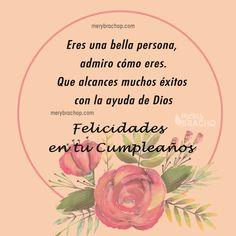 Spanish Birthday Wishes