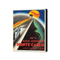 """Monte Carlo Janvier 1931 (20"""" x 16"""")"""