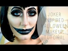 Joker Inspired Halloween Tutorial | Megan McTaggart  Pin now, watch later!