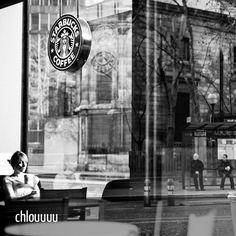 @chlouuuu - Soleil dans une cafétéria - C2C N°001 - Sélection de monsieurpop pour www.INKstagram.fr