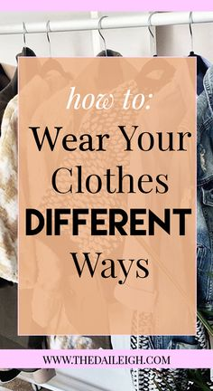 How To Create Outfits From My Closet, How To Dress Better, How To Create Outfits With Your Own Clothes, How To Wear The Same Clothes Differently, How To Wear The Same Outfit Differently, Create New Outfits From Your Closet, How To Style The Same Clothes Differently, How To Dress, Style Clothes Different, Fashion Tips for Women, Wear Clothes Different Ways, How To Dress, How To Be Fashionable, Creating Outfits, Creating Outfits Ideas, Creating Outfits How To, Casual Outfits, Dressy Outfits