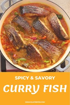Jamaican Dishes, Jamaican Recipes, Spicy Recipes, Curry Recipes, Fish Recipes, Seafood Recipes, Chicken Recipes, Cooking Recipes, Pinoy Food Filipino Dishes