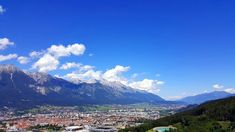 View from the Bergisel Ski Jump Ski Jumping, Sky View, Innsbruck, Mountain Range, Austria, Skiing, Mountains, Nature, Travel