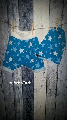 Babykleidung - Sommer Beanie mit kurze Pumphose 92/98 - ein Designerstück von bEnOtO bei DaWanda