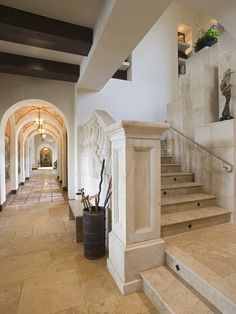 Mediterranean Staircase Design, Pictures, Remodel, Decor and Ideas - page 2