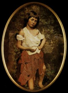 Alice was originally a winsome, dark haired child, whose likeness had been patterned after ten year old Alice Liddell, the child of a church colleague, for whom the Alice stories had been originally created.