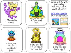 Free!!! Cute whole brain practice cards!! Match game!!!