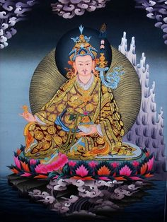 Before he passed into Mahaparinirvana, Buddha Shakyamuni prophesised that in eight (or twelve) years he would send an emanation to continue his activity