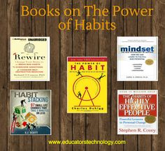 Some Excellent TED Talks and Books on Forming Better Habits ~ Educational Technology and Mobile Learning