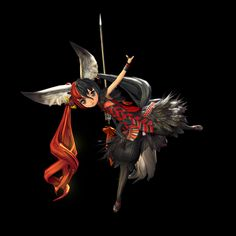 Blade and Soul Lyn | Blade & Soul Lyn Blade Master Official Concept Arts 1 /13
