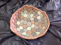 Brincadeira com argilas coloridas - Tânia Bess